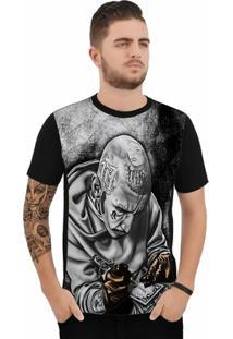 Camiseta Stompy Chicano Tattooer - Masculino