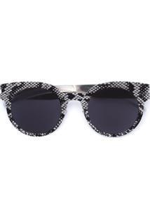 Mykita Óculos De Sol Armação Redonda - Metálico