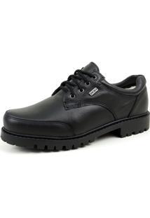 Sapato Fiero Tallinn Forrado Em Lã Preto