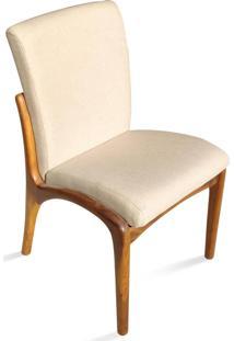 Cadeira Vk Madeira Maciça Design By Vladimir Kagan