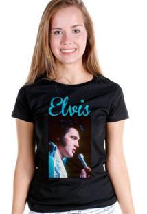 Camiseta Bandup Bandas Elvis Presley 70S Songs Preto