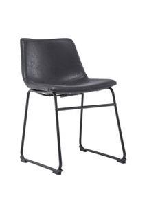 Cadeira Bruna Preta Rivatti