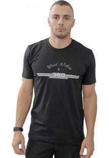 Camiseta Cheiro De Gasolina Rd 350 Preta