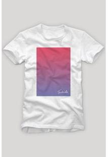 Camiseta Reserva Degradê - Masculino-Branco