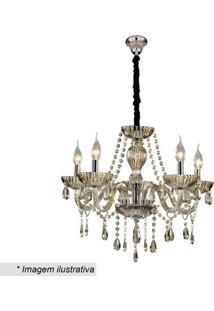 Lustre Glass- Dourado- 25X46X49Cm- Bivolt- Hhevvy