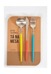 Kit Talher Ta Na Mesa - Multicolorido - U