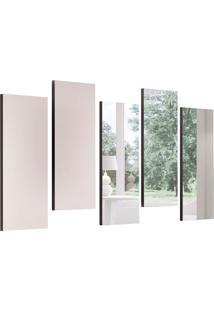 Espelho Decorativo Onix 137 X 78 Preto