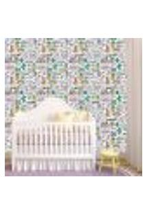 Papel De Parede Adesivo - Unicórnio Baby Bebe - 098Ppb