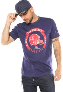 Camiseta New Era New England Patriots Azul