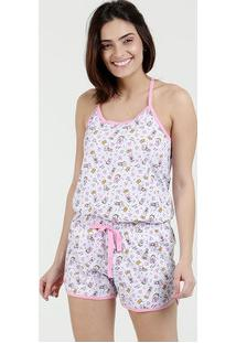 Pijama Feminino Estampa Margarida Nadador Disney