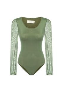 Body Tule - Verde