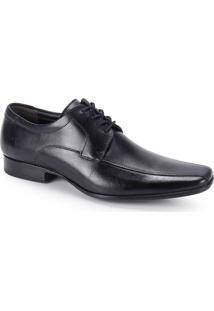 Sapato Social Masculino Democrata Premier - Preto