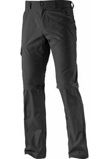 Calça Salomon Masculino Absolute Zip Off Preto Tam. G