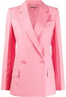Givenchy Blazer De Alfaiataria Com Abotoamento Duplo - Rosa