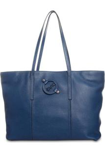 Bolsa Saad Shopper Floater Azul