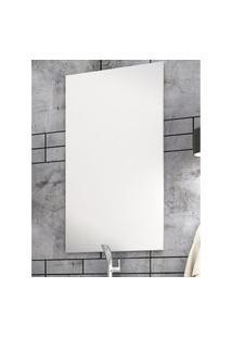 Espelheira Para Banheiro Bosi Eva Painel 90X50Cm Branco