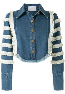 Andrea Bogosian Jaqueta Jeans Sarge - Azul