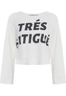 Blusa Feminina Trés Fatigué - Off White