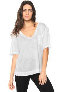 Camiseta Forum Bolso Off-White