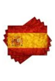 Jogo Americano - Espanha Com 4 Peças - 486Jo