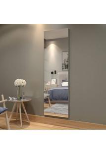 Quadro De Espelho 180Cm Flora Mavaular Branco