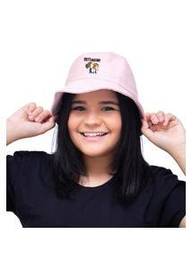 Chapéu Bucket Unissex Personalizado Grey'S Anatomy - Rosa