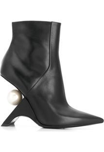 Nicholas Kirkwood Ankle Boot Jazzelle - Preto