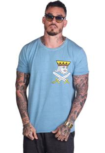 Camiseta Royal Brand Spade King Azul