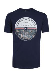 Camiseta O'Neill Estampada Luau - Masculina - Azul Escuro