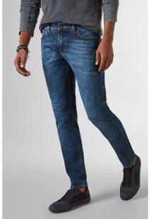Calça Jeans Reserva 5531 Alvarenga Masculina - Masculino-Azul