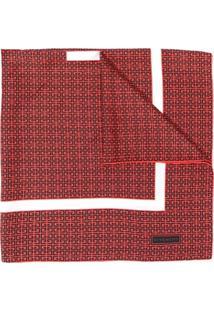 Givenchy Echarpe Com Estampa - Vermelho