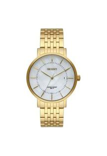Relógio Orient Feminino Eternal Analógico Dourado Fgss1164-B1Kx