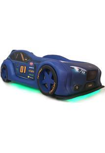 Cama Carro Zmax Racing - Azul - Dafiti