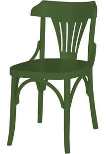 Cadeira Opzione Acabamento Verde Escuro - 27454 - Sun House