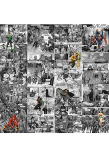 Painel Adesivo Quadrinhos Liga Da Justiça