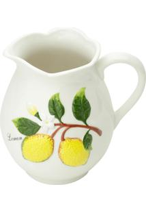 Jarra De Cerâmica Bon Gourmet Lemons 1.6 Litros