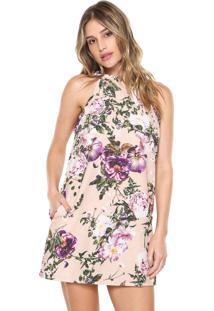 ed189d435 Vestido Bege Lanca Perfume feminino | Shoelover