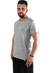 Camiseta Kouk Authentic Âncora Cinza