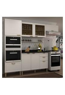 Cozinha Completa 7 Peças Americana Multimóveis 5912Mf Branco