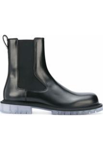 Bottega Veneta Ankle Boot Chelsea - Preto
