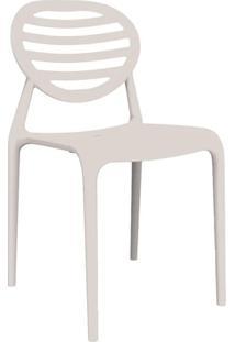 Cadeira Stripe Sem Braço Branca