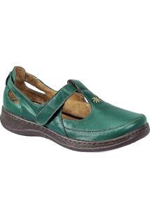 Sapato Boneca Serella Retrô Lolita Verde