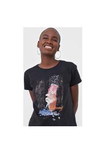 Camiseta Guess Charmed Preta