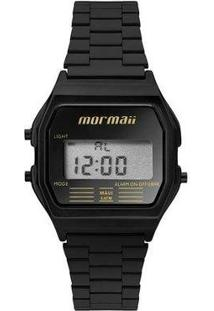 Relógio Mormaii Feminino Retro Mojh02Au/4D - Feminino-Preto