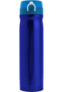 Garrafa Térmica 500 Ml Gold Topget Azul