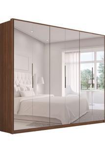 Guarda-Roupa Casal Com Espelho Atrice Ii 6 Pt 6 Gv Âmbar