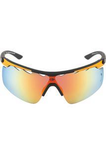 Óculos Sol Mormaii Athlon 4 M0042Aae91 Preto Emborrachado - Unissex