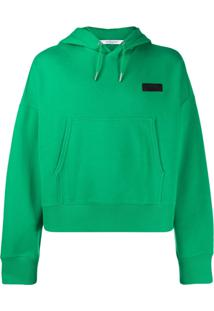Givenchy Logo Drawstring Hoodie - Verde