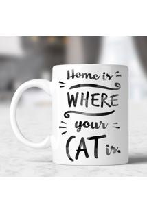 Caneca Where Your Cat Is