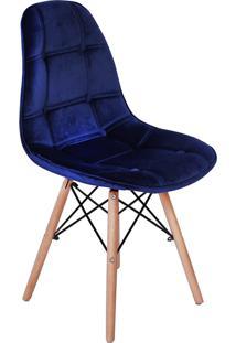Cadeira Impã©Rio Brazil Boton㪠- Azul Marinho/Incolor - Dafiti